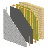 Wall External insulation 2
